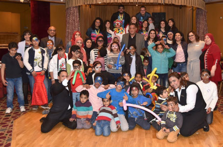 SOS Children Spending Quality Time at the Palace