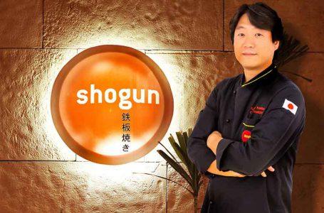 Chef Komatsu Making Fires at Shogun in Intercontinental City Stars