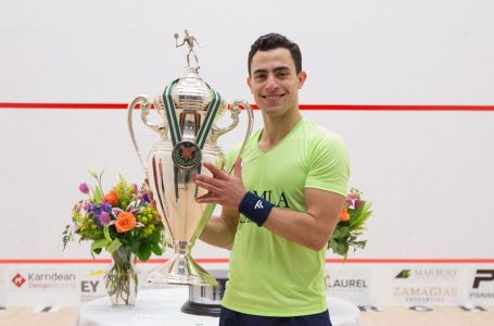 "<span class=""entry-title-primary"">Egypt's Fares Dessouky Claims the Pittsburgh Squash Open's Title</span> <span style=""    display: none;""> - </span><span class=""entry-subtitle"">Six Egyptian squash players competed at the tournament in the US. </span>"