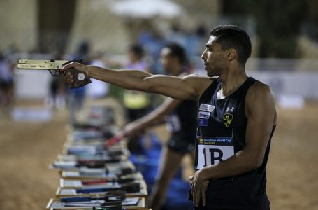 "<span class=""entry-title-primary"">Egypt Claims Two Medals at the Pentathlon World Cup</span> <span style=""    display: none;""> - </span><span class=""entry-subtitle"">The Pentathlon World Cup took place in the Egyptian capital, Cairo. </span>"