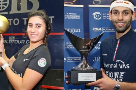 Nour El Sherbini & Mohamed El Shorbagy…Players of the Year