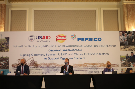 Press Release – United States and Chipsy for Food Industries – one of PepsiCo Egypt companies – Renew Partnership in Egypt to Improve Farmer Livelihoods